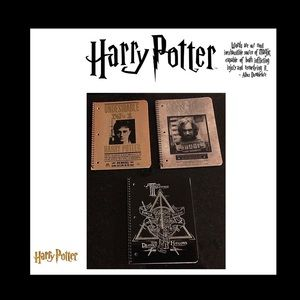 Harry potter 1 subject notebook (3) NWT